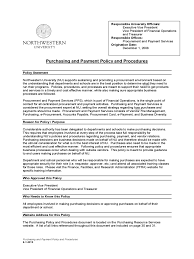 policy templates purchasing policy template 2 free templates in pdf word excel