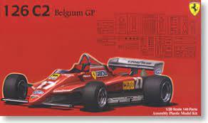 Vehicles » cars » ferrari 126 c2. Ferrari 126c2 Belgium Gp Model Car Hobbysearch Model Car Kit Store
