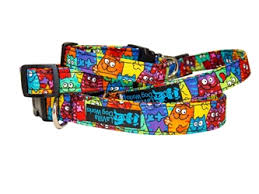 Patterned Dog Collars Impressive Patterned Fabric LaVilla Dog Works Page 48