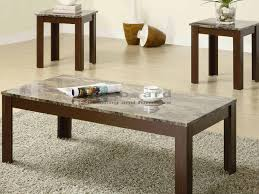 faux marble coffee table. When It Comes Out Adorning Your Living Room, This Coaster 700395 3 Piece Faux Marble Coffee Table