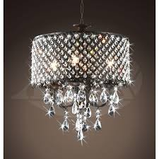 amazing of chandelier with crystals rachelle 4 light round antique chandelier with crystals