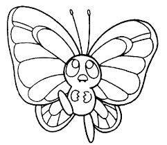 Free Printable Butterfly Color Pages Printable Butterfly Coloring