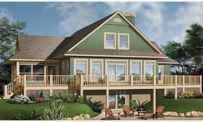 lake house plans with rear view unique lake house plans with basement lake house plans with rear