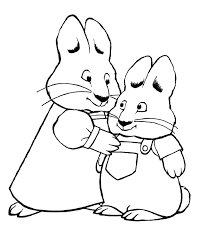 Small Picture Max And Ruby Coloring Pages For Every One 18153 Bestofcoloringcom