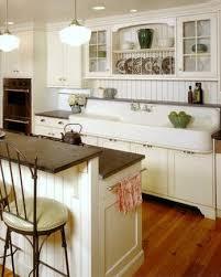 Interior White Farmhouse Kitchen Sink Toilet American Standard