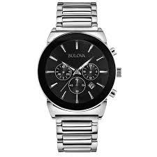 bulova men s classic 96b203 silver stainless steel quartz watch bulova men s classic 96b203 silver stainless steel quartz watch bulova amazon ca watches