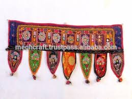 Small Picture Wholesale Banjara Style Home Decor Toran vintage Kutch Embroidered