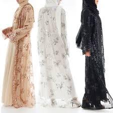Class Of 2019 Embroidery Design Us 15 77 46 Off 2019 Abaya Dubai Luxury High Class Sequins Muslim Dress Embroidery Lace Ramadan Kaftan Islam Kimono Women Turkish Eid Mubarak In