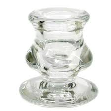 amazing small glass candle holder 2 inch short taper candlestick jar bulk stick with lid plate