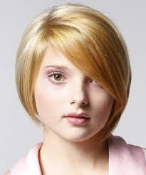 قصات شعر للوجه الدائري السمين احدث قصات الشعر للفتايات