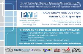 pyp trade show and job fair pensacola young professionals pyp trade show and job fair