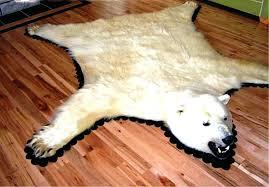fake bear rug bear skin rug faux stylish white bear skin rug with head designs rugs