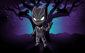 Black Panther Cartoon Wallpapers - Top ...