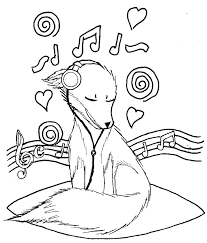 Music Coloring Page Music Coloring Pages Lovable Music Coloring Page