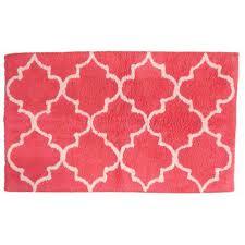 bathroom sonoma c lattice plush pile throw rug 17x24 cotton bath mat rugs bathroom
