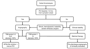 Therapeutic Flow Chart For Patients With Failed Thrombolysis