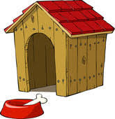 dog house clipart. Perfect Clipart In The Dog House House On House Clipart G