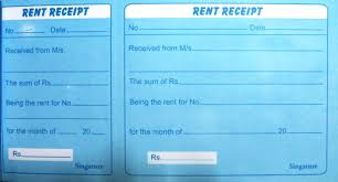 income tax proof submission hra and rent receipt