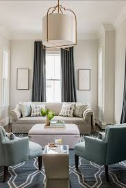 family room lighting design. Ivory And Slate Blue Living Room Minimalist Palette Benjamin Moore Paint Color Classic Gray Pendant Is The Most Amazing Beautiful Fixture Family Lighting Design