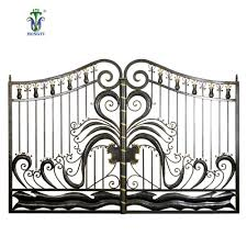 Wrought Iron Fence Styles And Designs French Style Garden Farm Wrought Iron Mesh Fence Gate Design Buy Iron Mesh Fence Gate Farm Iron Gate Garden Iron Gate Flower Design Product On