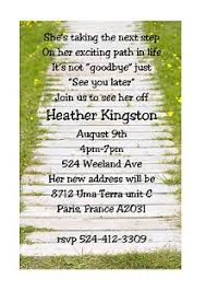 Going Away Party invitations NEW selections fall 2015
