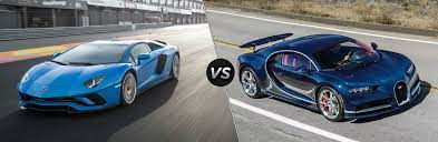 Browse 4,166 bugatti car stock photos and images available, or search for luxury car or lamborghini to find more great stock photos and pictures. 2018 Lamborghini Aventador Vs Bugatti Chiron