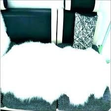 small round white fluffy rug fantastic fur area fuzzy rugs