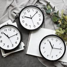 Large office wall clocks Pendulum Image Is Loading Blacklivingroomclockwallclocksantiquenumber Ebay Black Living Room Clock Wall Clocks Antique Number Modern Large