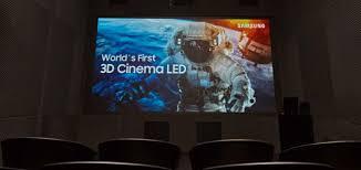 <b>3D</b> Cinema <b>LED</b>