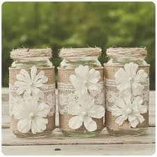 Decorated Jars For Weddings Diy Burlap And Lace Curtains Diy Burlap And Lace Shower Curtain 40