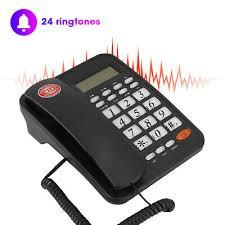 kx t8005cid corded telephone desktop