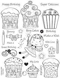 a8f63c5c736420f88223f06675b8c89e happy birthday cupcakes fairy cakes 67 best images about free templates to color and cut out to use on on yuniquely sweet free blogger template