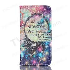 Dream Phone Quotes Best of Magnetic Leather Stand Phone Case For IPhone 24S Dream Catcher And