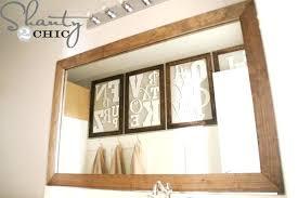 Diy Mirror Frame Mirror Frame Diy Mirror Frame Tile writingcircleorg