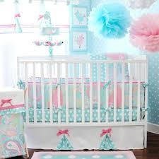 mermaid crib bedding sets little baby set
