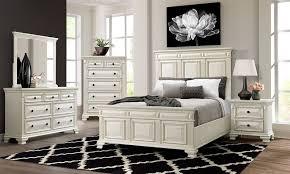 Calloway White Panel Bedroom Set - Queen   Nader's Furniture
