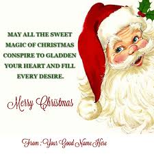 Happy Merry Christmas To You And Family Name Pictures Wishes Interesting Quotes Xmas Wishes