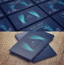 tech business card free abstract hi tech business card template psd titanui