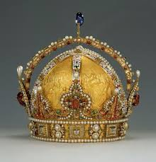 Austrian <b>Crown</b> Jewels at the Schatzkammer. Vienna, Austria ...