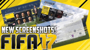 fifa career mode new screenshots create a manager new fifa 17 career mode new screenshots create a manager new objectives youth development etc