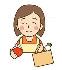 買い物をする主婦 イラスト素材 [ 925577 ] - フォトライブラリー photolibrary
