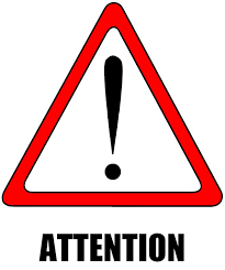 Image result for attention please images
