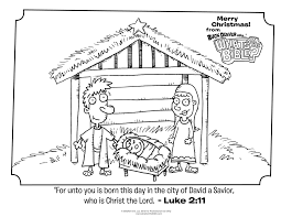 Small Picture Luke 211 Christmas Coloring Page Whats in the Bible Kids