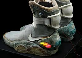 original back to the future nike mag shoes