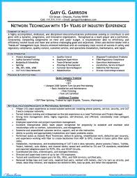 How To Make Cable Technician Resume That Is Really Perfect Computer