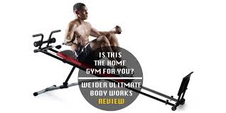 Weider Body Works Pro Chart Weider Ultimate Body Works Review Total Home Gym Workout