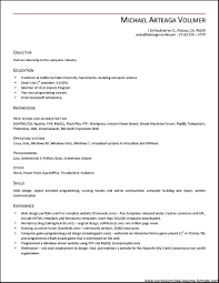 Cover Letter Resume Templates Open Office Chronological Resume