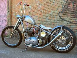 more 60s style triumph chopper project progress pictures the