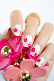 Top 10 Spring Welcoming Floral Nail Art Tutorials - Top Inspired