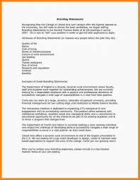 Examples Of Branding Statements For A Resume 9 Personal Brand Statement Examples Proposal Sample